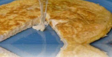 Tortilla con Queso