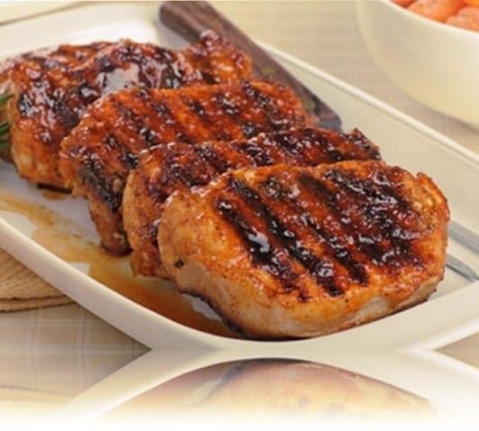 carne de cerdo asada