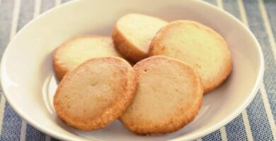 galletas caseras de mantequilla