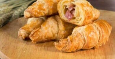 croissants de jamon y queso