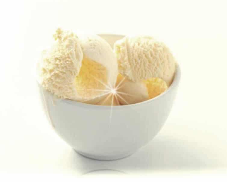 helado de chirimoya