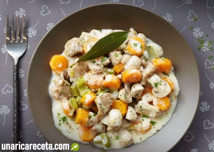receta-de-blanqueta-de-pollo
