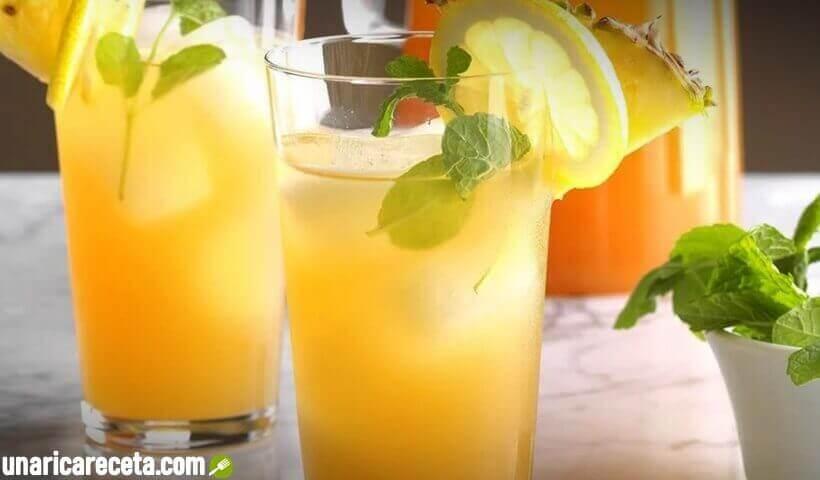 receta-de-jugo-de-limon-y-piña-para-bajar-el-colesterol