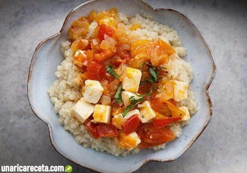 receta-de-quinoa-con-queso